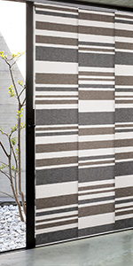 Godear design adjustable sliding panel steel grey white