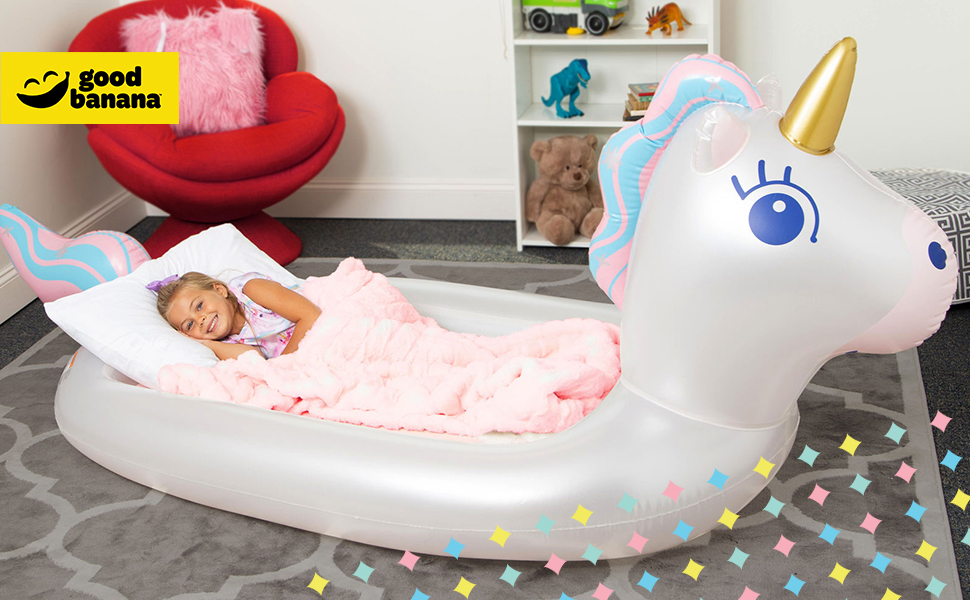 Dream Floatie Air Bed inflatable sleepover camping bed kids air mattress