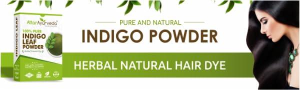 Attar Ayurveda Indigo powder for hair