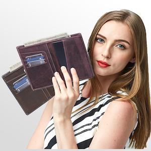 Birch Travel Wallet passport
