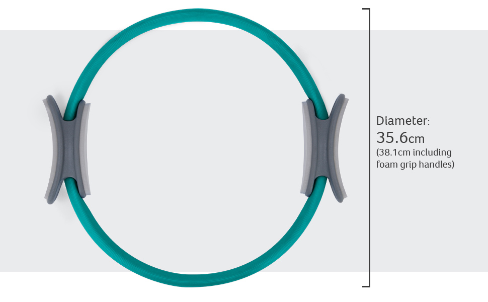 pilates ring dimensions size scale