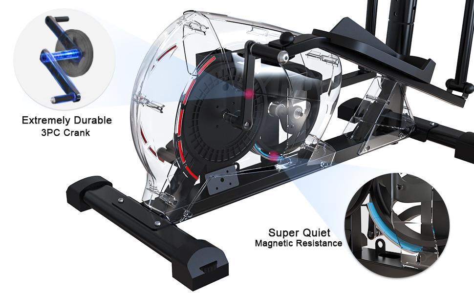 magnetic elliptical