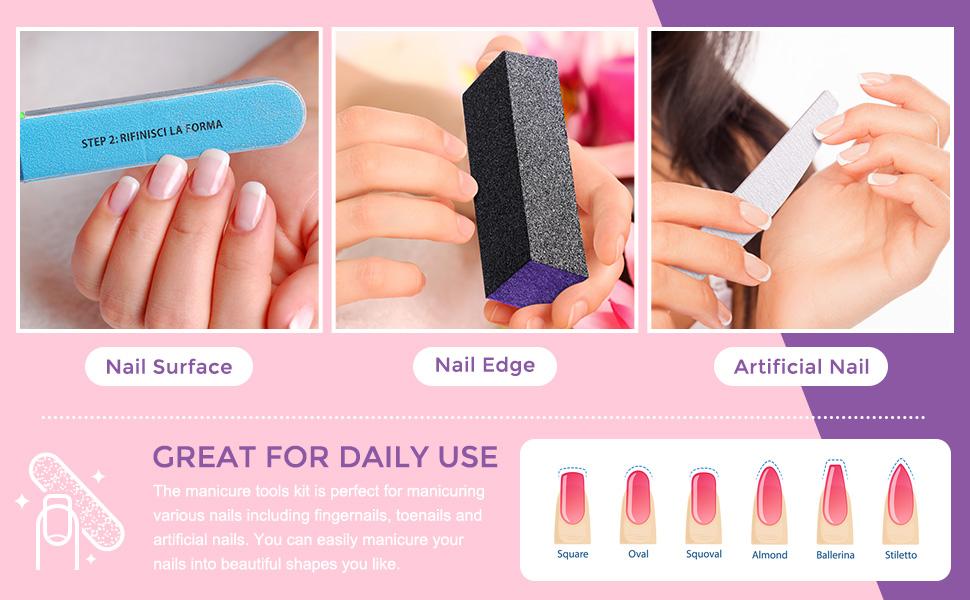 nail files &buffer