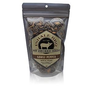 inhale bbq ghost pepper sunflower seeds