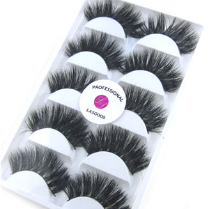 Amazon Com 3d Real Mink False Eyelashes Lasgoos 100 Siberian Mink Fur Luxurious Soft Cross Thick Very Long Wedding Party 5 Pairs 20mm Fake Eye Lashes K02 1 Pack 5 Pairs Beauty
