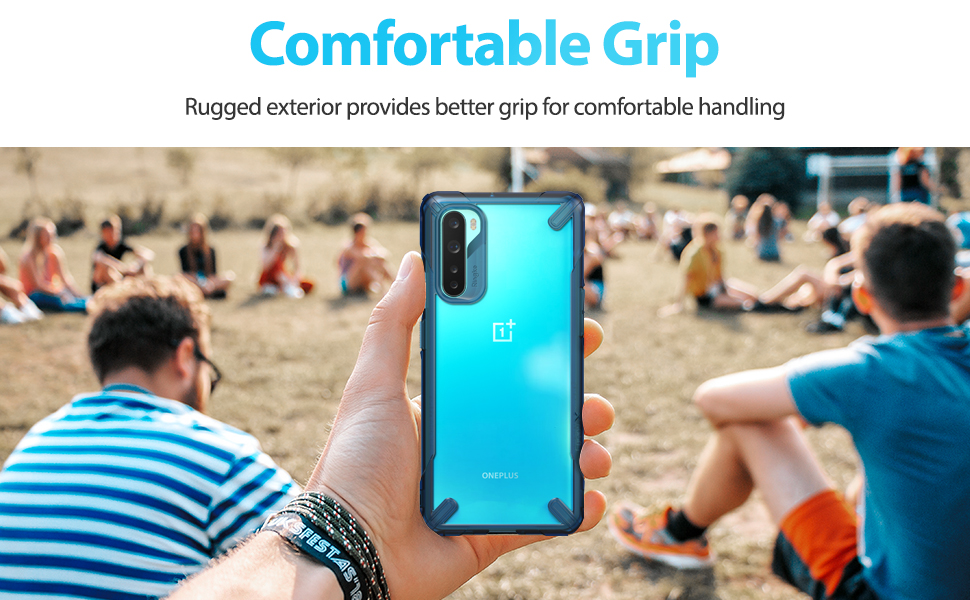 Ringke Fusion X Case Designed for OnePlus Nord (2020)
