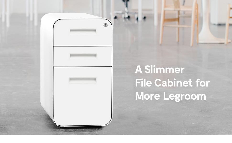 Modern File Cabinets with Rounded Corners