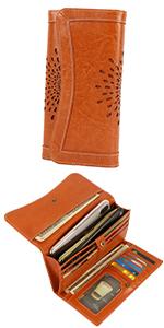 Leder Brieftasche