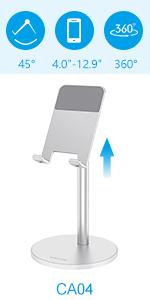 soporte para móvil y tablet