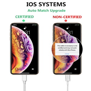 Apple charger cable MFI Certified