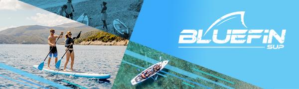 Bluefin SUP Paddleboard Paddle Board paddleboarding boarding iSUP kayak inflatable surf water sports