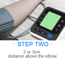 """2  Blood Pressure Monitor for Home Use with Large 3.5"""" LCD Display, Wowgo Digital Upper Arm Automatic Measure Blood Pressure and Heart Rate Pulse with Wide-Range Cuff,Three-Color Backlight Display d42ec290 7221 4e52 aa27 29a1c9d5fd1b"""