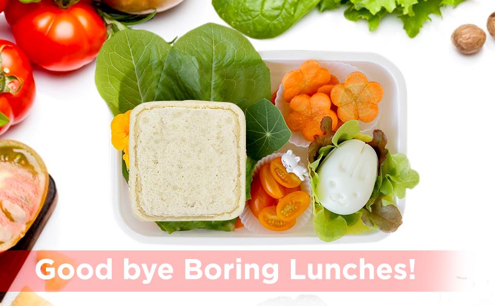 Sealed Sandwich Pocket in Kids Lunch Box