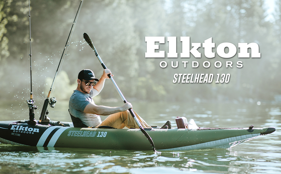 Steelhead Fishing Kayak Canoe