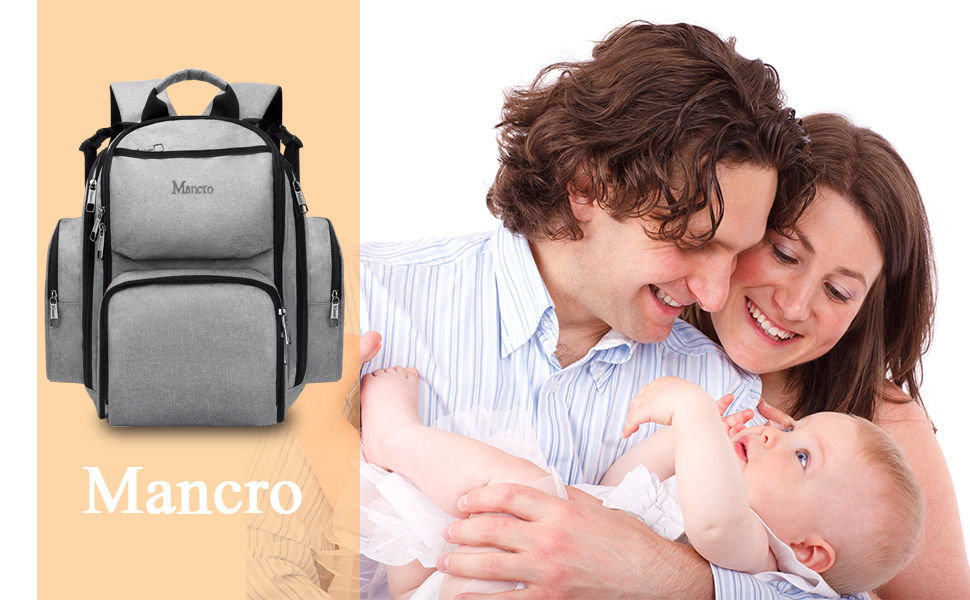 Diaper bag for Dad and Mom