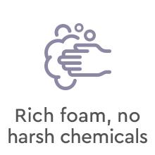 Puracy Natural Liquid Hand Soap - Lavender & Vanilla - Rich foam, no harsh chemicals