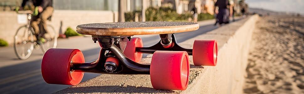 mini longboard, cruiser skateboards, small skateboard, bamboo longboard, wide skateboard, pennyboard