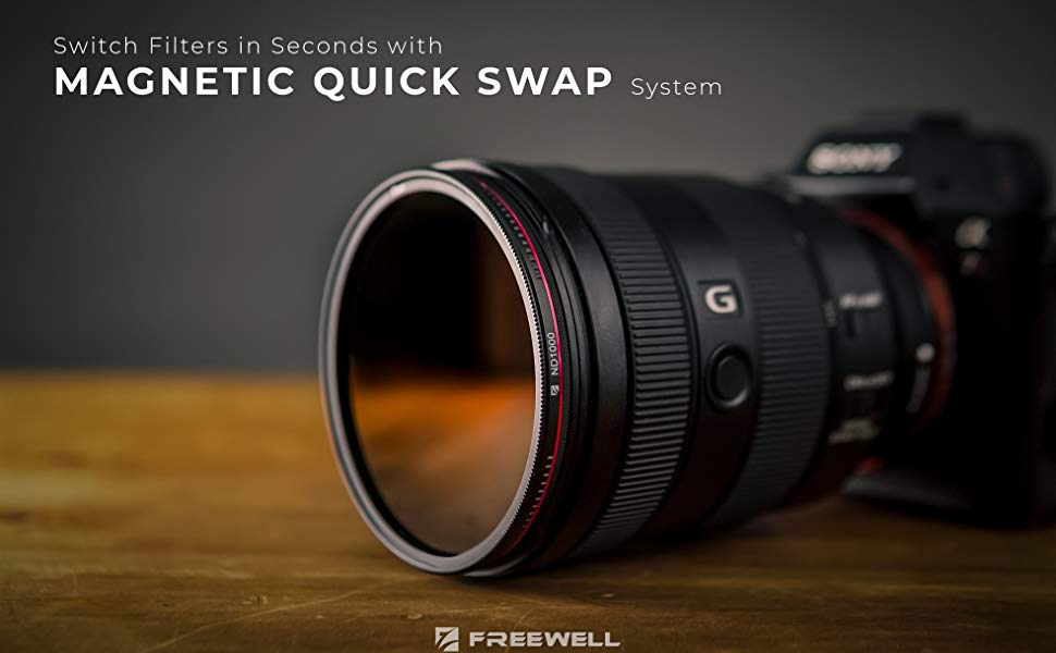 Freewell Magnetisches Quick Swap System 82 Mm Nd8 Kamera