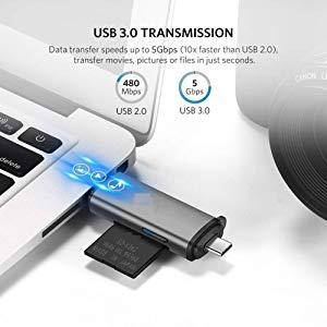 Fast data transfer card reader Multi port card reader tablet card reader