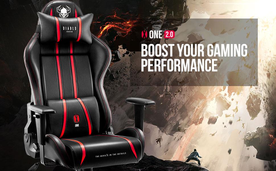 Top des chaises de gaming en 2021 -  Diablo X-One 2.0