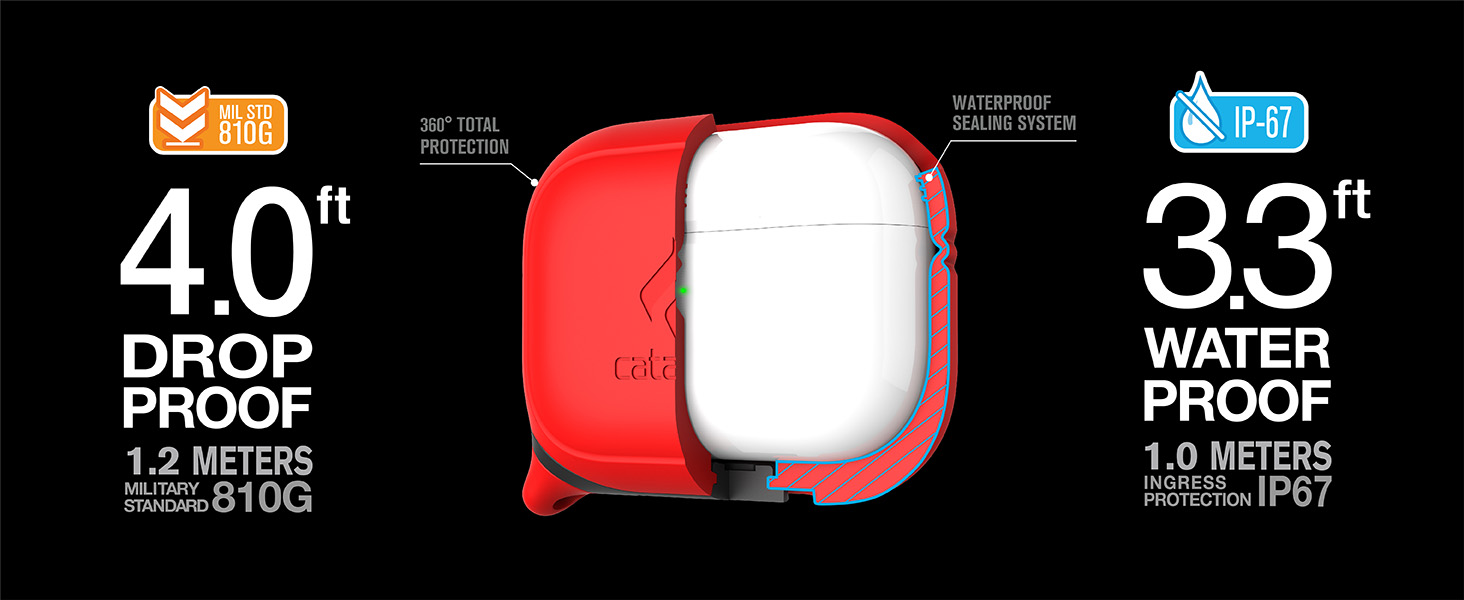 Waterproof case for AirPods Pro by Catalyst