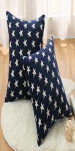 Sunday Praise Star Pillow Cover