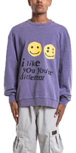 Kanye i Like You You're Different Men's Hoodie
