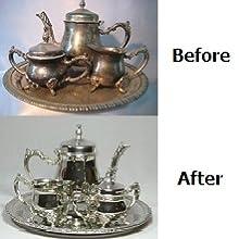 before after tea set