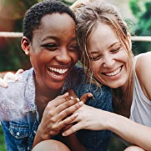 2 Women smiling together