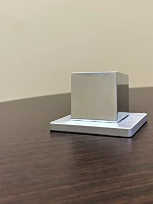 tungsten aluminum cubes cube fidget toy midwest tungston service metal science toy desk