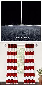 Mia 100% blackout red