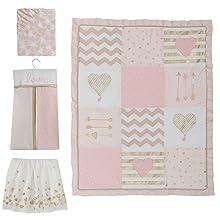 Baby Love 4-Piece Crib Bedding Set