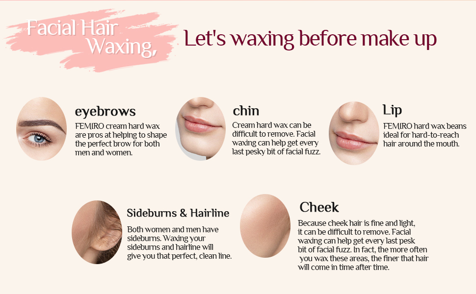 wax beans hair removal kit