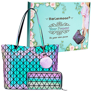 Tote bag with purse set