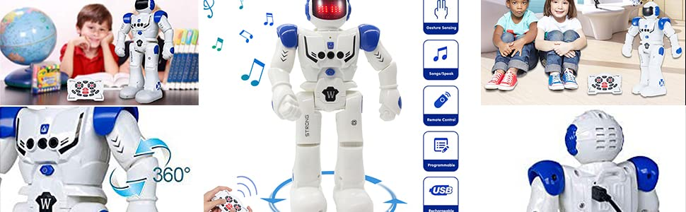 Robot Juguete Programación Inteligente Gestos Control Robots