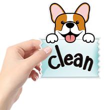 dog dishwasher sign