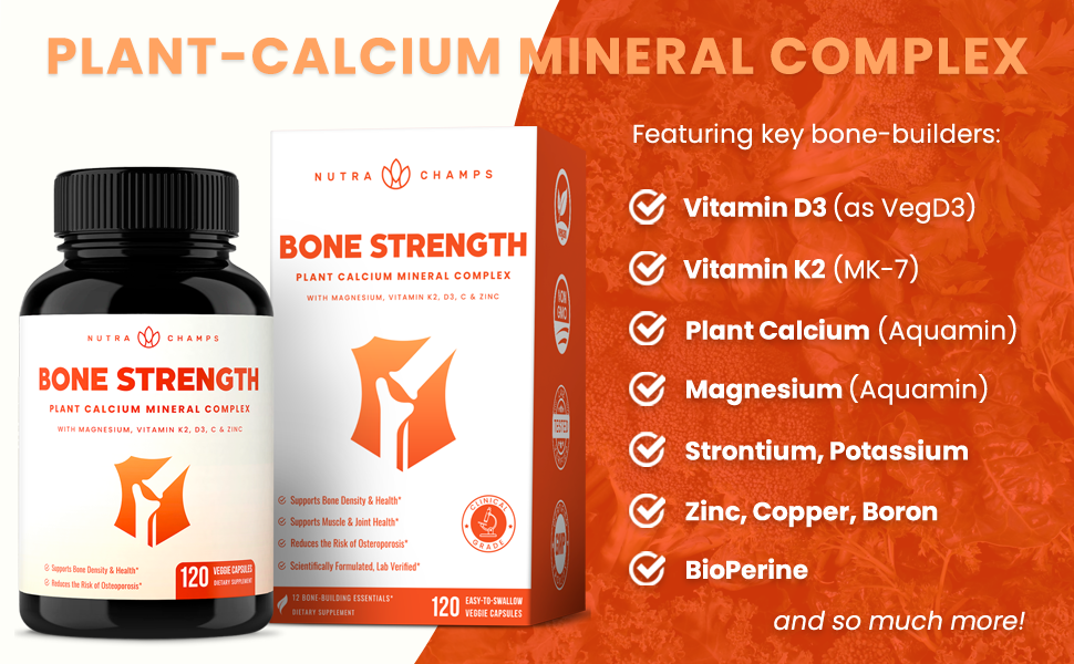 bone building strength capsules supplement