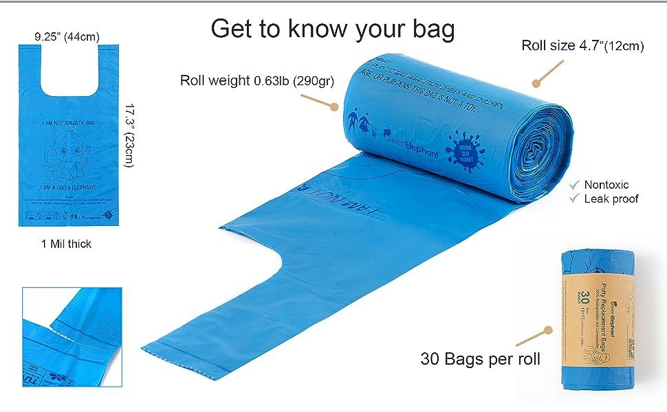 Potty bag
