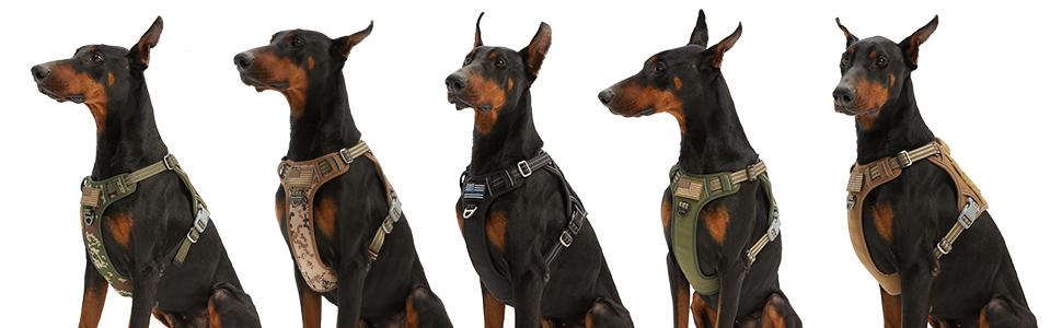 tartical dog harness pet vest harness
