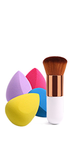 4+1 Pcs Makeup Sponge set