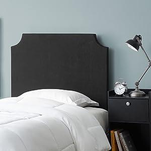 Linen Canvas Decorative Headboard Dorm Accessory