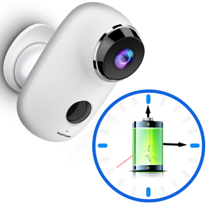 Flashandfocus.com d46e126c-4d8e-46c9-9d58-4a071660a2b1.__CR0,0,300,300_PT0_SX300_V1___ Wireless Outdoor Security Camera, KAMTRON 1080P Home Security Rechargeable Battery Powered Camera 2.4G WiFi with Night…