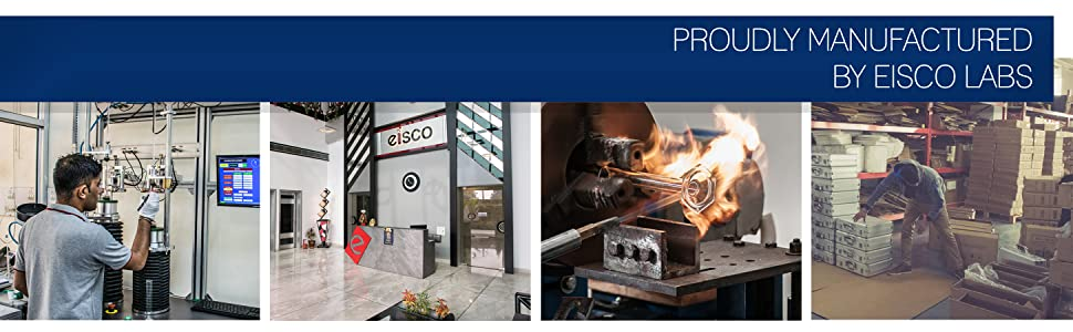 MANUFACTURING PROUDLY MANUFACTURED BY EISCO LABS INDIA GLASSWARE LABORATORY GRADE PRODUCTS