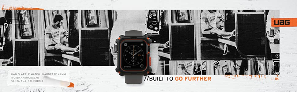 URBAN ARMOR GEAR UAG APPLE WATCH CASE 44MM