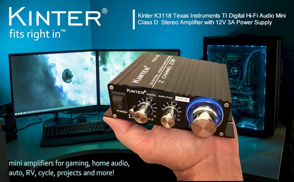Kinter 3118 Audio Amplifier