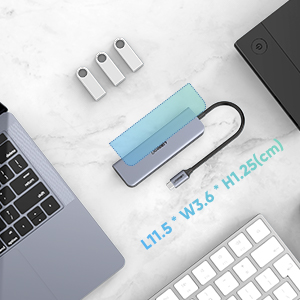 portable usb c dock multiport