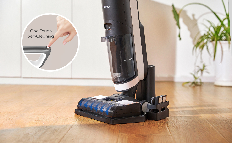 One-Touch Self-Cleaning