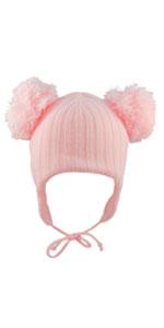 Baby-s Hat-s Gorra-s Pom-s Bobble-s niños niña-s bebés orejeras barbilla, correa cálida invierno lana mejor