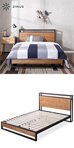 ZInus Bed Frame IRPBHS