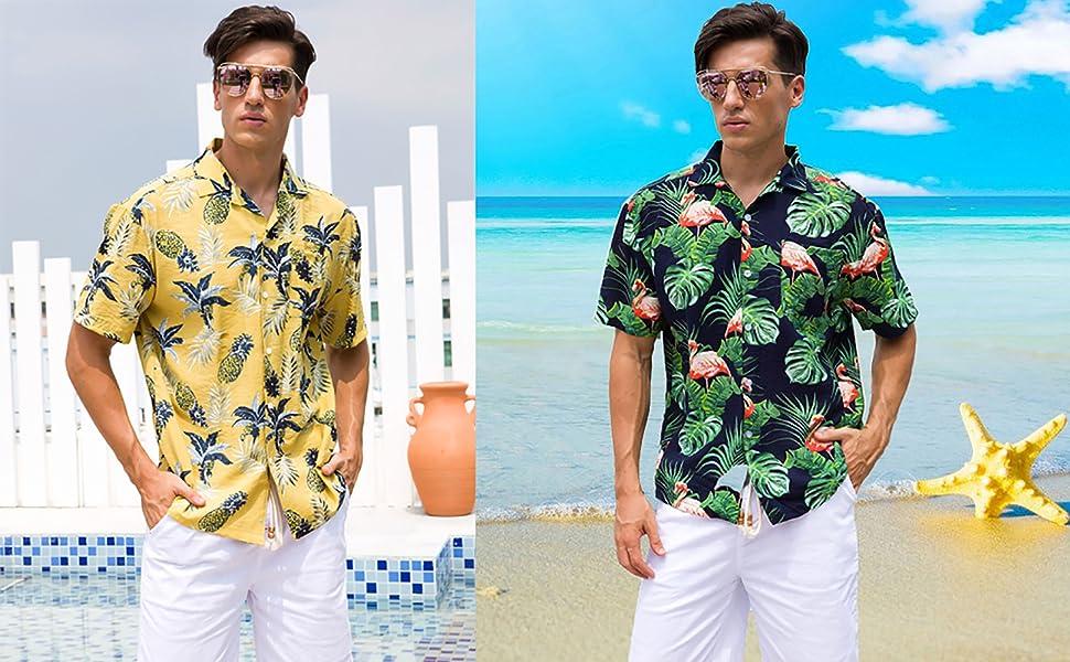 pineapple hawaiian shirt,tropical shirt,hawaiin shirts mens,floral shirts for men,hawaii shirt